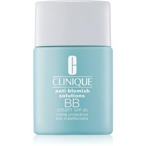 Clinique Anti-Blemish Solutions BB krém a bőrhibákra SPF 40 árnyalat Light Medium 30 ml