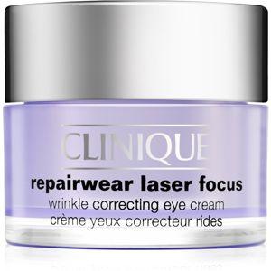 Clinique Repairwear Laser Focus ránctalanító szemkrém minden bőrtípusra 15 ml