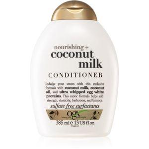 OGX Coconut Milk hidratáló kondicionáló kókuszolajjal 385 ml