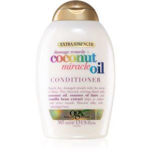 OGX Coconut Miracle Oil erősítő balzsam kókuszolajjal 385 ml