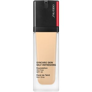 Shiseido Synchro Skin Self-Refreshing Foundation hosszan tartó make-up SPF 30 árnyalat 210 Birch 30 ml