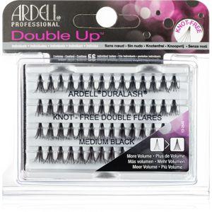 Ardell Double Up Csomómentes elválasztott szempillák méret Medium Black
