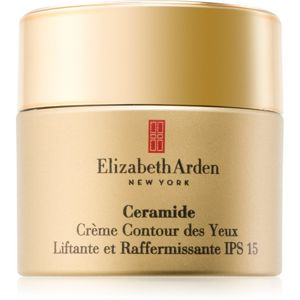 Elizabeth Arden Ceramide Plump Perfect Ultra Lift and Firm Eye Cream liftinges szemkrém SPF 15 15 ml