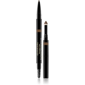 Elizabeth Arden Beautiful Color Brow Perfector automatikus szemöldökceruza 3 az 1-ben 04 Brown 0,32 g