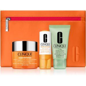 Clinique Superdefense SPF 25 kozmetika szett (hölgyeknek)