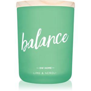 DW Home Balance illatos gyertya