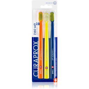 Curaprox 1560 Soft fogkefék 3db színes változatok 3 db