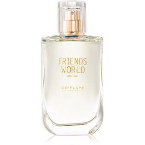 Oriflame Friends World for Her eau de toilette hölgyeknek