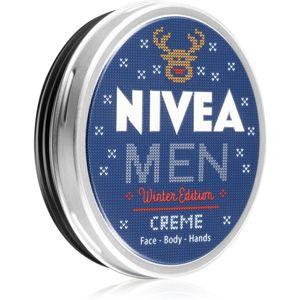 Nivea Men Winter Collection univerzális krém arcra, kézre és testre 75 ml
