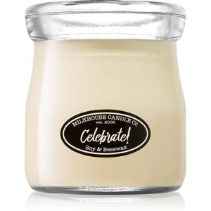 Milkhouse Candle Co. Creamery Celebrate! illatos gyertya Cream Jar 142 g