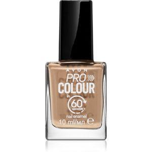 Avon Pro Colour körömlakk árnyalat Brisk Buff 10 ml