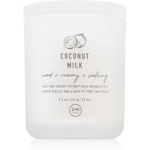 DW Home Prime Spa Coconut Milk illatos gyertya 241 g