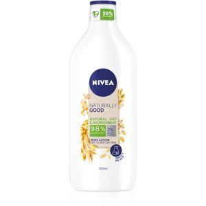 Nivea Naturally Good tápláló testápoló krém 350 ml