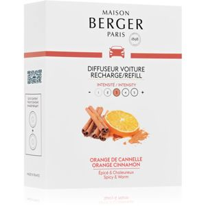 Maison Berger Paris Car Orange Cinnamon illat autóba utántöltő