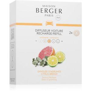 Maison Berger Paris Car Citrus Breeze illat autóba utántöltő 2 db