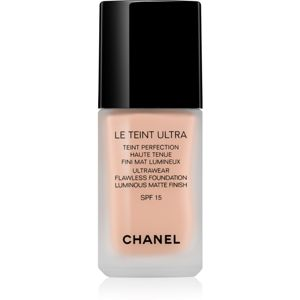 Chanel Le Teint Ultra tartós matt make-up SPF 15