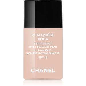 Chanel Vitalumière Aqua ultra könnyű make-up a ragyogó bőrért