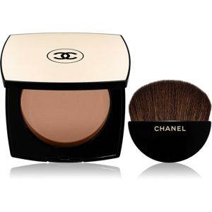 Chanel Les Beiges Healthy Glow Sheer Powder lágy púder SPF 15 árnyalat 25 12 g