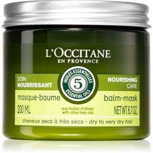 L'Occitane Aromachologie mélyen tápláló maszk a nagyon száraz hajra 200 ml