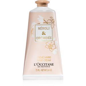 L'Occitane Neroli & Orchidée kézkrém 75 ml