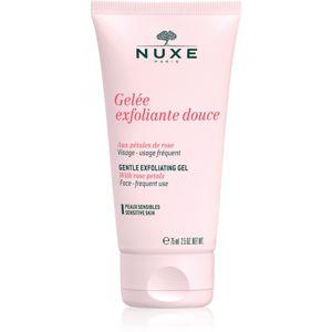 Nuxe Cleansers and Make-up Removers tisztító peeling az érzékeny arcbőrre 75 ml