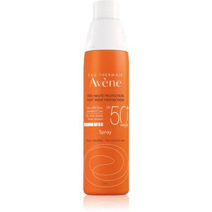 Avène Sun Sensitive napvédő spray SPF 50+