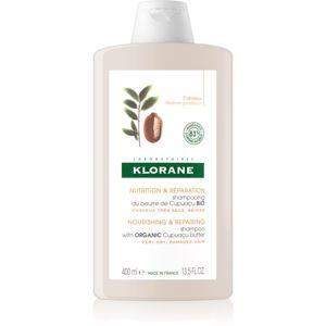 Klorane Cupuaçu Fleur de Cupuacu tápláló sampon a haj regenerálásáért és megerősítéséért 400 ml