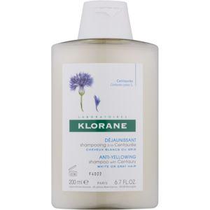Klorane Centaurée sampon szőke és ősz hajra 200 ml
