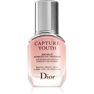 Dior Capture Youth Age-Delay Advanced Eye Treatment szem maszk a ráncok, duzzanat és sötét karikák ellen