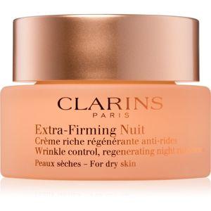 Clarins Extra-Firming éjszakai feszesítő és ránctalanító krém száraz bőrre 50 ml