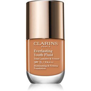 Clarins Everlasting Youth Fluid élénkítő make-up SPF 15 árnyalat 112 Amber 30 ml