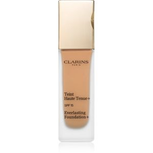Clarins Face Make-Up Everlasting Foundation+ hosszan tartó folyékony make-up SPF 15