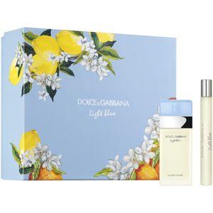 Dolce & Gabbana Light Blue ajándékszett XXX. hölgyeknek