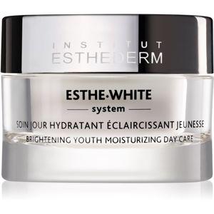 Institut Esthederm Esthe White fiatalító nappali ápolás az arcbőr hidratálására és élénkítésére