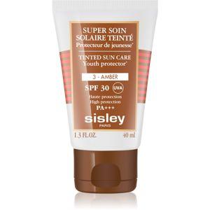 Sisley Sun védő tonizáló krém arcra SPF 30 árnyalat 3 Amber 40 ml