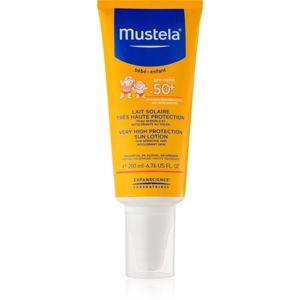 Mustela Solaires napvédő tej gyermekeknek SPF 50+ 200 ml