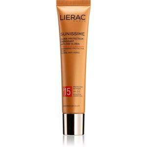 Lierac Sunissime bőröregedés elleni energizáló védő fluid SPF 15