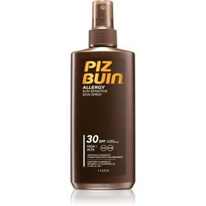 Piz Buin Allergy napvédő spray SPF 30 az érzékeny arcbőrre 200 ml