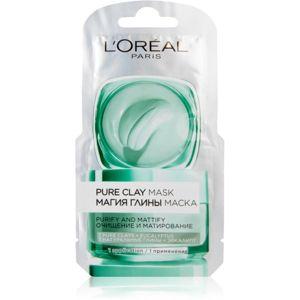 L'Oréal Paris Pure Clay tisztító és mattító arcmaszk
