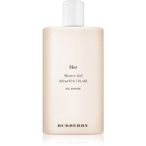 Burberry Her tusfürdő gél hölgyeknek
