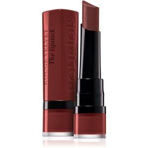 Bourjois Rouge Edition Velvet mattító rúzs árnyalat 35 Perfect Date 2,4 g