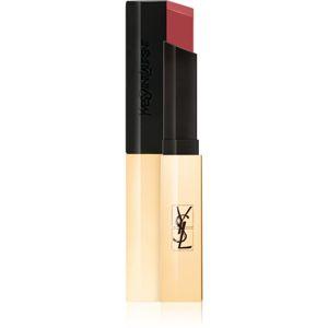 Yves Saint Laurent Rouge Pur Couture The Slim vékony mattító rúzs bőr hatással árnyalat 30 Nude Protest 2,2 g
