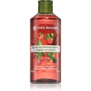 Yves Rocher Raspberry & Mint energizáló tusfürdő gél 400 ml