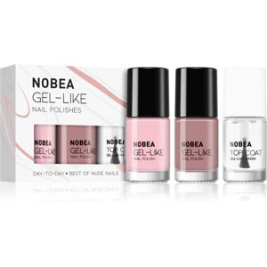 NOBEA Day-to-Day körömlakk szett Best of Nude Nails