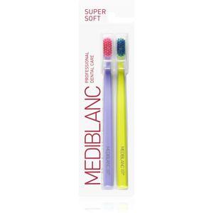MEDIBLANC 4210 SUPER SOFT fogkefe super soft 2 db