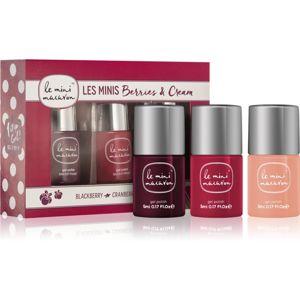Le Mini Macaron Les Minis Berries & Cream kozmetika szett I. (körmökre) hölgyeknek