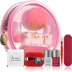 Le Mini Macaron Le Mini Travel Kit kozmetika szett XIV. (körmökre) hölgyeknek