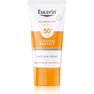 Eucerin Sun Sensitive Protect védőkrém az egész arcra SPF 50+