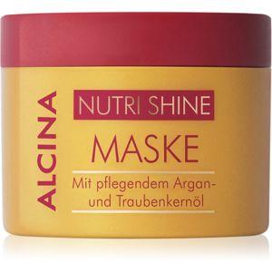 Alcina Nutri Shine tápláló hajmaszk argánolajjal