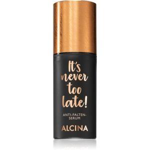 Alcina It's never too late! ránctalanító szérum 30 ml
